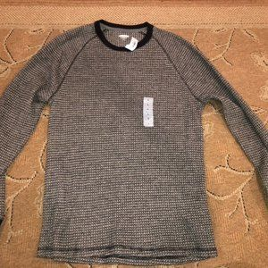 NWT Old Navy Long Sleeve Grey Thermal